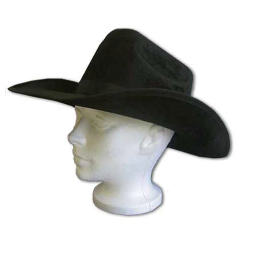Black velvet Cowboy hat - Magic Light ec589041107