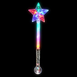 Star magic ball wand LED