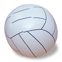 Ballon de volleyball géant gonflable 48""