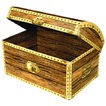 "Treasure chest box 11¾\"" x 8\\\"""