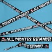 Plastic pirate tape 20\'