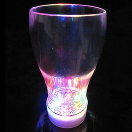 Light up flashing soda cup-multicolor