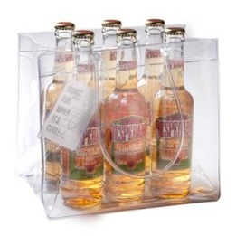 Beer bag for 6 bottles