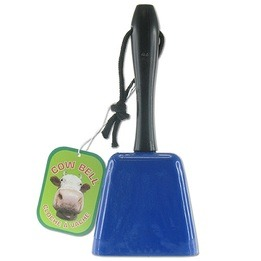 Cow bell with handle