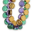 "Beads - 33"" Coin Mardi Gras Beads"