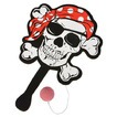 "9"" Pirate paddle ball"