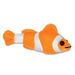Poisson-clown en peluche 8""