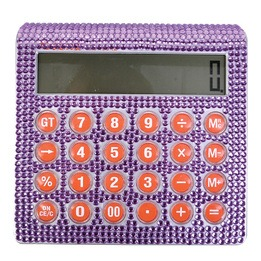 Calculatrice bling-bling 6""