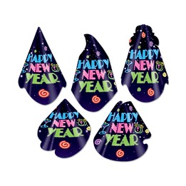 Assortiment de chapeaux Neon Midnight