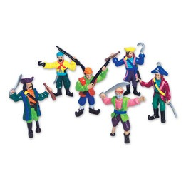 Figurines pirate 2,5""
